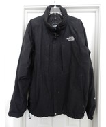 The North Face Men's HYVENT Jacket Coat Flannel Mesh Lined Black Size XL - $59.35