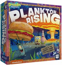 An item in the Toys & Hobbies category: Factory Sealed Spongebob Plankton Rising Cooperative Dice and Card Game