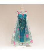 «´¨`• Princess Frozen Fever Elsa Costume - 7/8..°•´¨`» - $4.99