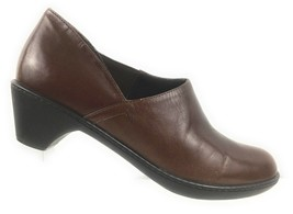 Dansko Womens  Brown Leather Ankle Shoes Slip On Sz 38 US 8.5-9 - $24.27