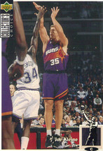 1994-1995 Upper Deck Collector's Choice Card Joe Kleine #335 Phoenix Suns - $3.95