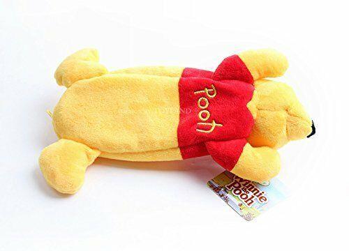 New Disney Winnie the Pooh Stuffed Plush Doll Pen Case Yellow Limited Japan image 5