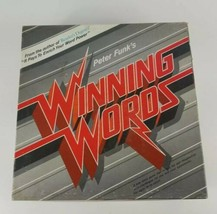 Winning Words Board Game by Peter Funk 1986 - $9.49