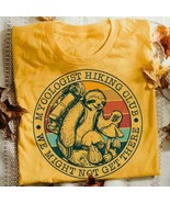 Sloth Mycologist Hiking Club We Might Not Get There Men T-Shirt Cotton S... - $15.98+
