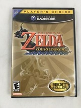 The Legend Of Zelda The Wind Walker Nintendo Game Cube Game COMPLETE - $33.73