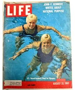 LIFE Magazine VTG August 22 1960 RARE Sample Olympics JFK Space Travel U... - $26.61