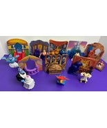 Aladdin and King of Thieves FULL SET OF 8 Disney Happy Meal Toys 1996 Mc... - $14.84