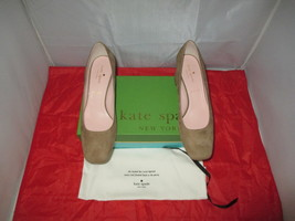 KATE SPADE NEW YORK Kylah Block Heel Pump $228 New Taupe - US Size 9 M  ... - $99.99