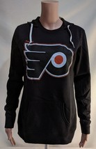 LZ Women's S Reebok Philadelphia Flyers Hooded Sweatshirt Pullover Sweat... - $15.07