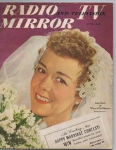 ORIGINAL Vintage June 1950 Radio TV Mirror Magazine Joan Davis - $18.51