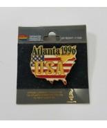 Vintage 1996 Atlanta Olympics games display pin USA - $7.92