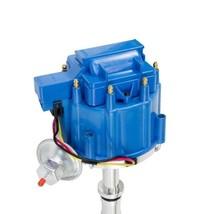BB Big Block Buick HEI Distributor Blue Cap 400 430 455 65K VOLT COIL image 2