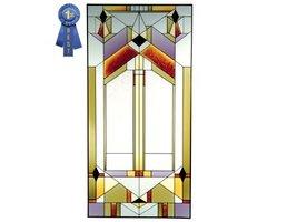 Silver Creek Deco Tectural Art Glass N-019 - $221.00