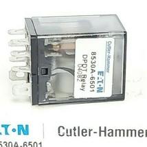 CUTLER-HAMMER 8530A-6501 OUTPUT DEVICE DPDT RELAY K10P-11D15-12 SER. A1 image 2