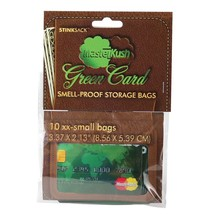 Stink Sack XX-Small 10 PACK Smell Proof Bags Masterkush Blaze Kush Credi... - $11.98