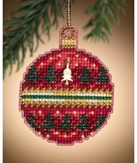Ruby Forest Christmas Jewels 2011 charmed ornament beaded kit Mill Hill - $6.30