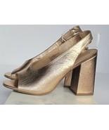 Women's Valerie High Vamp Open Toe Sling Back Espadrille Sandals A New D... - $16.70