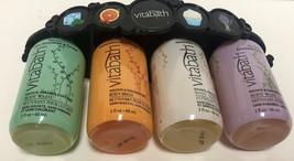 Vitabath Gift Set Body Wash 4-2 OZ Bottles Spearment Orange Coconut Lavender image 7