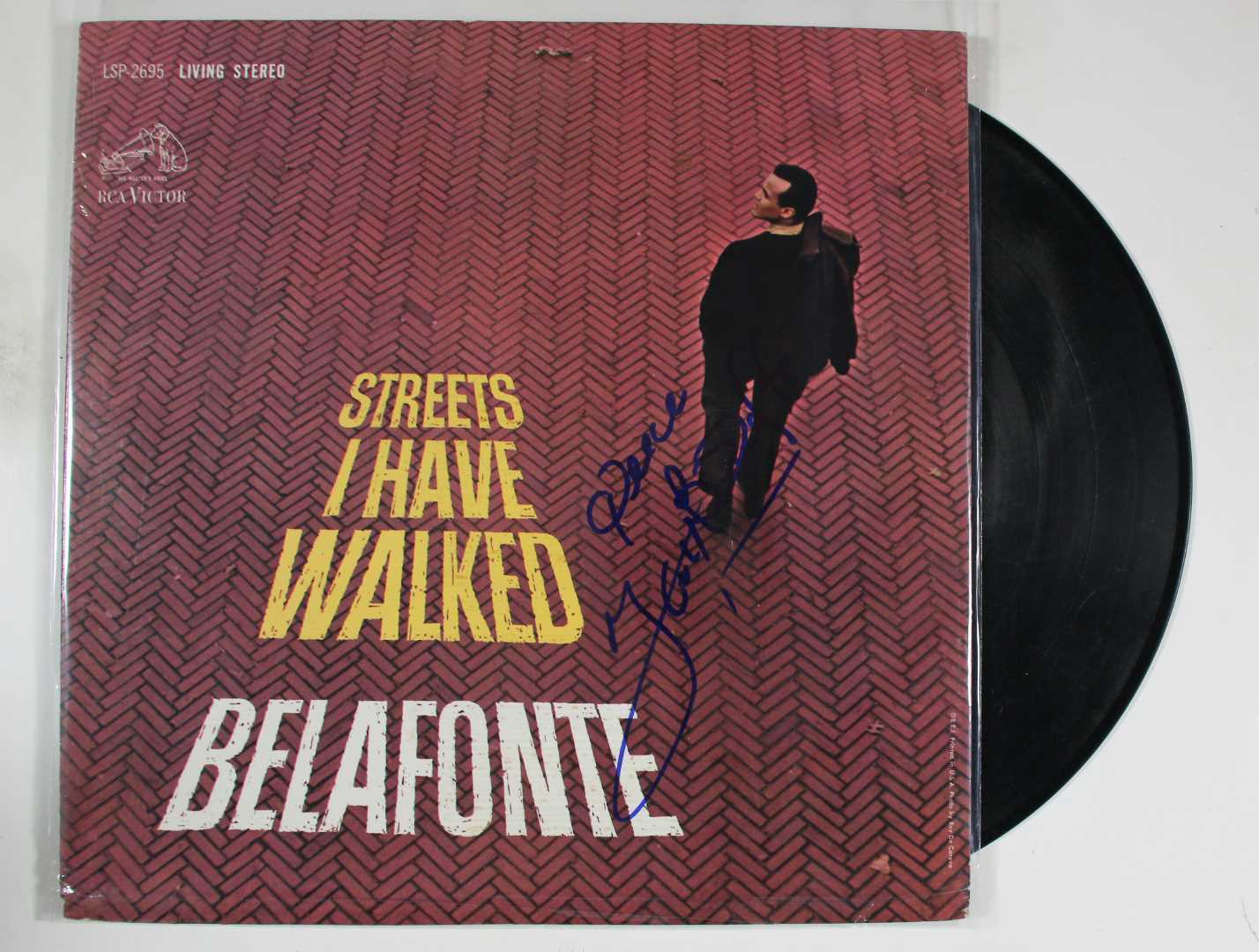 "Primary image for Harry Belafonte Signed Autographed ""Streets I Have Walked"" Record Album"
