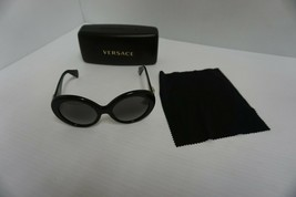 78c65be8c6 Versace Mujer Nuevas Gafas de Sol Mod 4298 Gb1/11 55/20 Gris Lentes