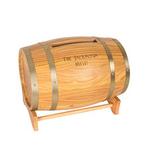 Personalized Wine Barrel Reception Gift Card Holder - $114.94
