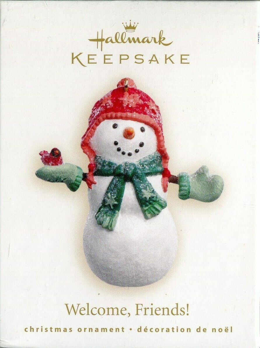 Primary image for 2007 New in Box - Hallmark Keepsake Christmas Ornament - Welcome Friends!