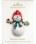 2007 New in Box - Hallmark Keepsake Christmas Ornament - Welcome Friends! - $3.46