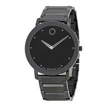 Movado Men's 0606882 Sapphire Black Stainless Steel Watch - $880.05