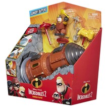 The Incredibles 2 Tunneler Vehicle Play Set with Junior Super Underminer Figure - $39.99