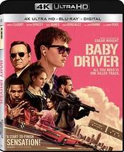 Baby Driver (4K Ultra HD + Blu-ray + Digital) (2017)