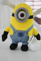 "Despicable Me One Eye Minion Mini Plush Stuffed Animal Toy Doll 6"" - $7.91"