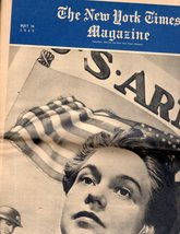 The New York Times, Magazine , May 24, 1942 - $24.95