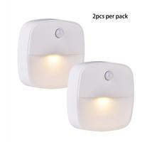 2pcs per Pack Stick-on Night Light Warm Light Movement Motion Sensor Bed... - $12.99