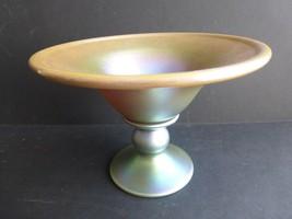 Carl Radke Phoenix Studio Art Iridescent Glass Vase - $133.64