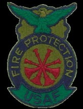 US Air Force Deputy Chief Fire Protection Patch - US SELLER - $11.64