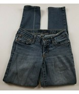 Jessica Simpson Womens Jeans Sz 27 Forever Skinny Low Rise Medium Wash D... - $18.33