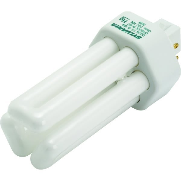 Primary image for Sylvania 18 Watt Triple Compact Fluorescent Bulb, 3,000 Kelvin, Gx24Q-2 Base