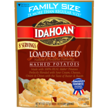 Idahoan Loaded Baked® Mashed Family Size, 8 oz Pouch - $4.00