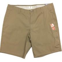 Dockers Comfort Stretch Utility Shorts Security Zip Pocket 36 Khaki Beig... - $26.45