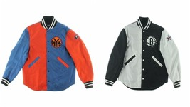 Mark McNairy New Amsterdam Men's ShirtTtail Varsity Jacket Size Medium $475 - $99.99