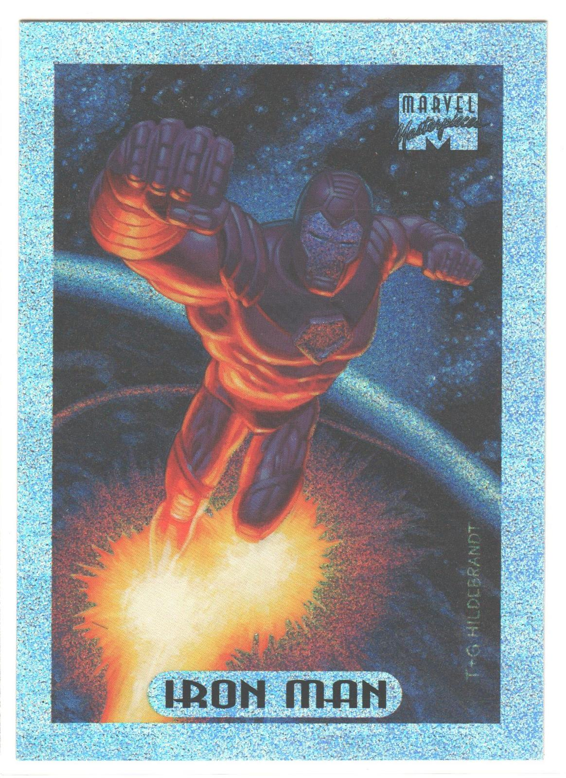d0dc1aa56c1 Ironman1200. Ironman1200. Previous. Iron Man Marvel Masterpieces Limited  Edition Holofoil comic card 1994 ...