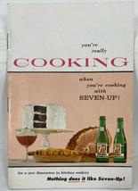 Vintage 7-Up Soda Pop 1957 Baking Cooking Meat Beverage Recipes Booklet  F26 - $11.25