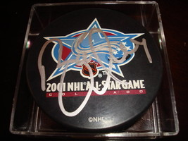 Brett Hull Signed Autographed 2001 NHL All Star Game Hockey Puck a - $59.39