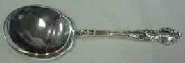 """Meadow Rose by Wallace Sterling Silver Berry Spoon 8 3/4"""" - $289.00"""