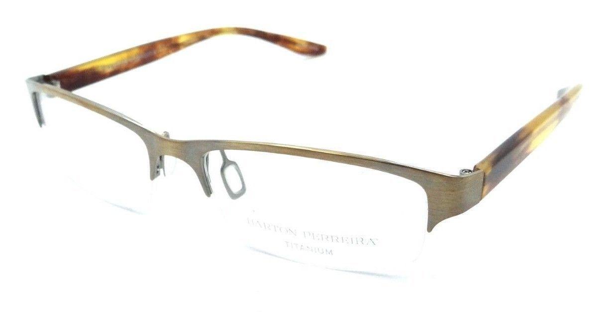 Barton Perreira Sintra Eyeglasses Frames 54-15-135 Spanish Cedar Unisex