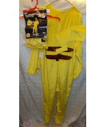 Pokemon Pikachu Man Mens Halloween Costume New 36 - 38 Diaguise Adult - $31.14