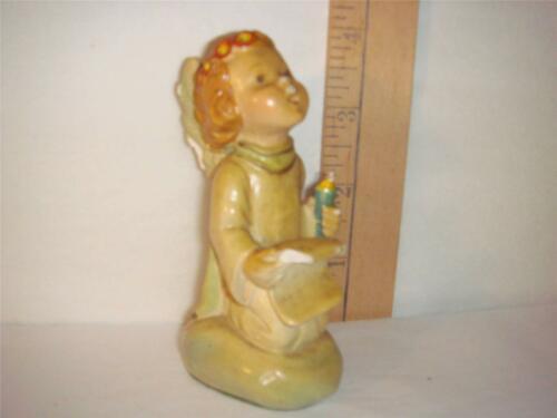 Vintage 1942 Hummel Chalkware Christmas Angel Figurine Herbert Dubler Ars Sacra - $29.65