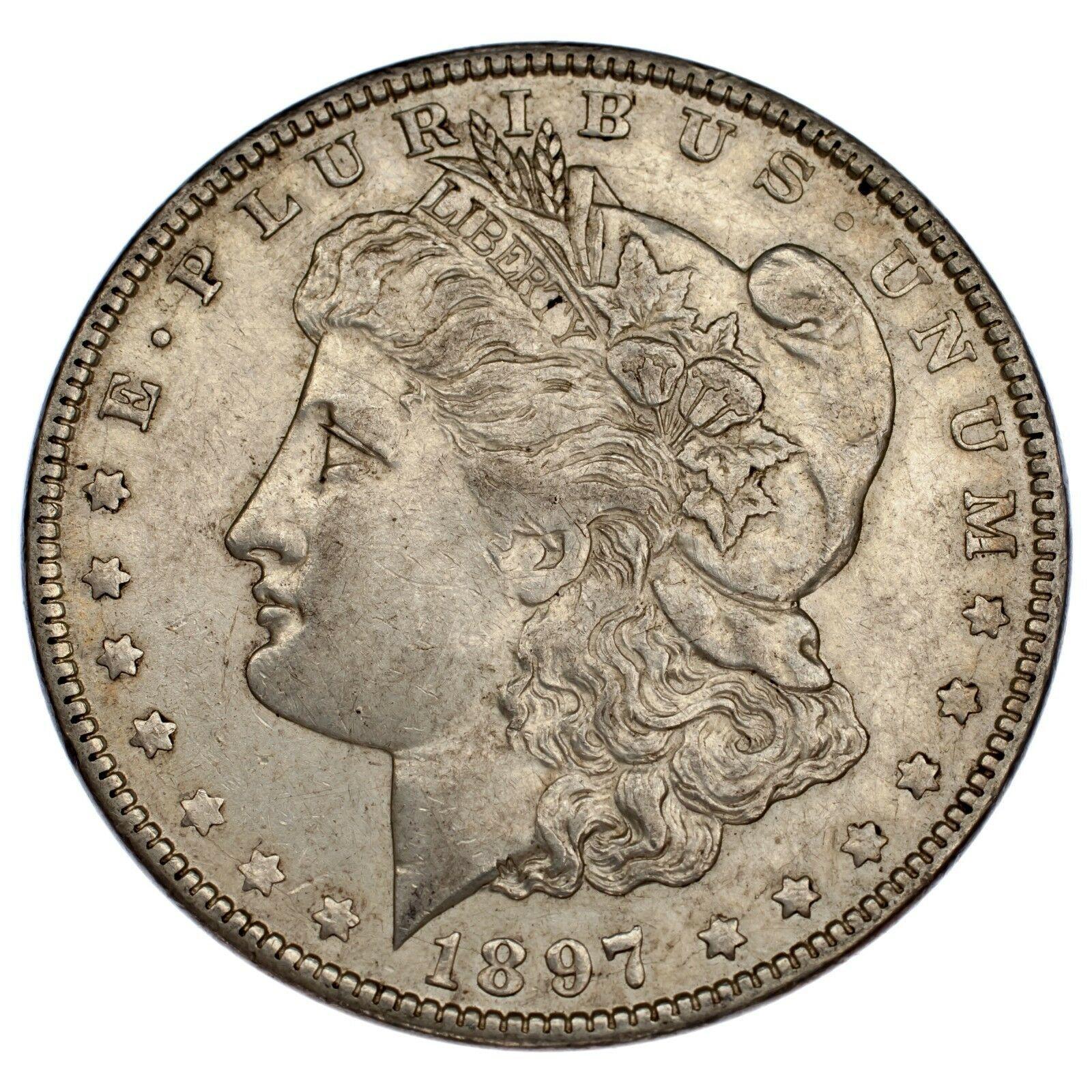 1897-O $1 Dollar Morgan en au État , Nice Oeil Appeal, Fort Luster ! image 2