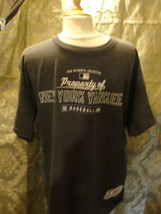 MLB New York Yankees gray T-shirt size Large. Made by Majestic short sleeve. - $14.20