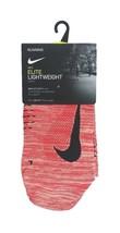 NIKE Elite Lightweight Running Crew Socks sz L Large (9.5-11) Red - $17.99